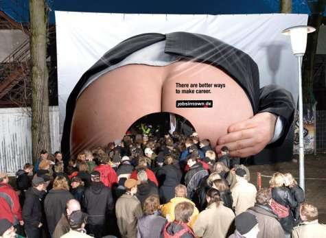 Up Your Boss's Assvertising