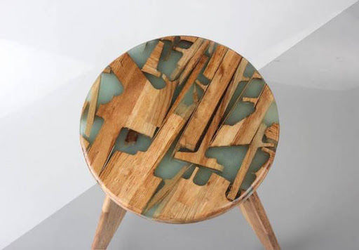 Recycled Wooden Stools