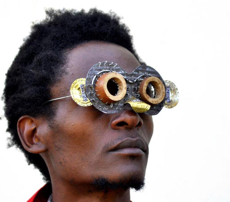 Upcycled Eyewear Art