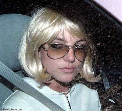 Britney Spears Blonde Wig 121