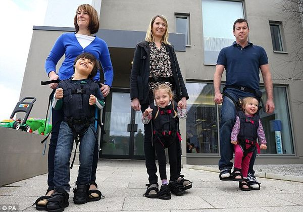 Child Mobility Harnesses
