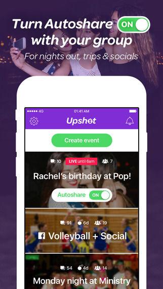 Temporary Photo-Sharing Apps