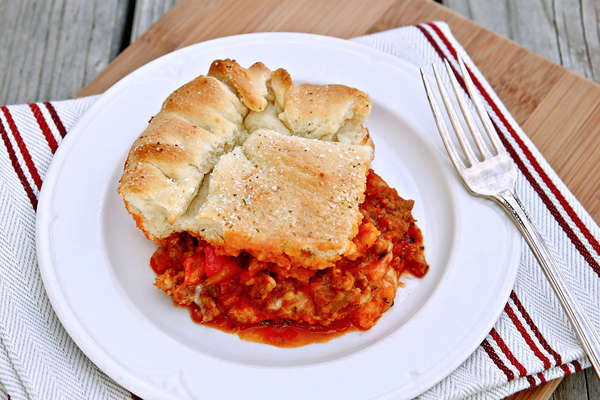 Revamped Sausage Pie