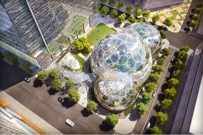 Spherical Urban Greenhouses
