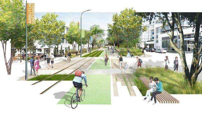 Rejuvenated Urban Greenways