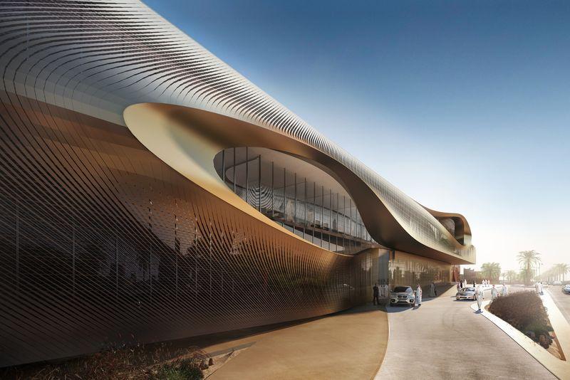 Oasis-Inspired Museum Buildings