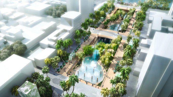 Rejuvenated Urban Lagoons