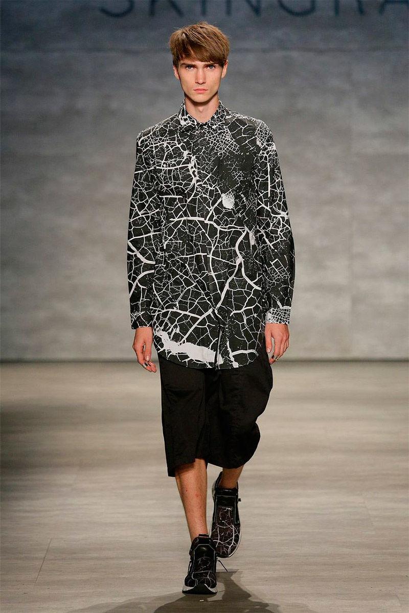 Monochromatic Urban Menswear