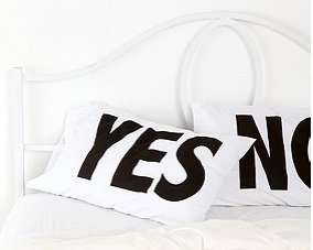 Lazy Answer Pillows