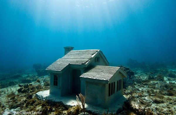 Submerged Sea Houses