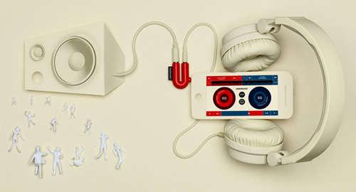 Convenient DJ Adapters