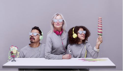Stylish Pastel Headphones