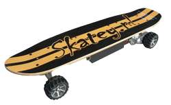 Urbanized electronic skateboards