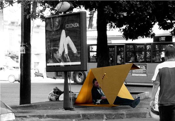 Cardboard Homeless Shelters