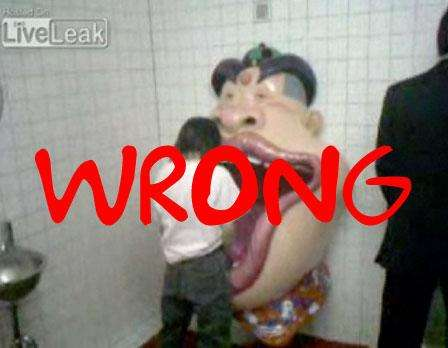 13 Strange Urinals + Pee in a Singing Moving Clown Mouth