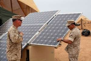 US Marine Corps Solar Program