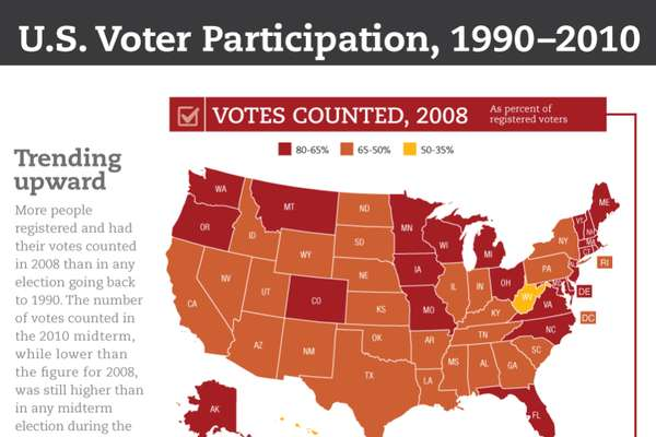 Motivated Voting Infographics