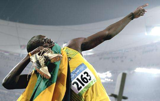 usain bolt gold ipod