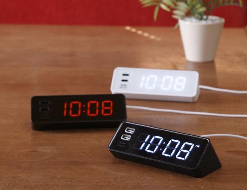 Smartphone-Charging Clocks