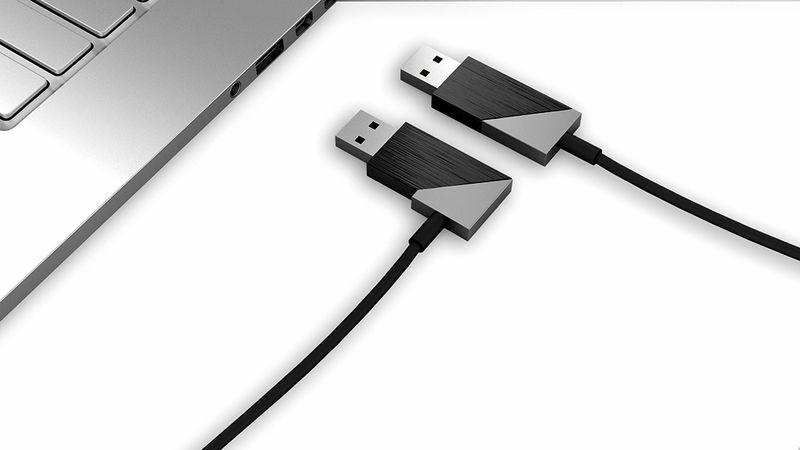 Rotating USB Connectors