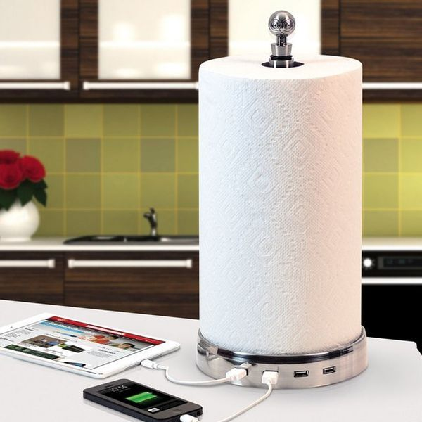 Multitasking Paper Towel Holders
