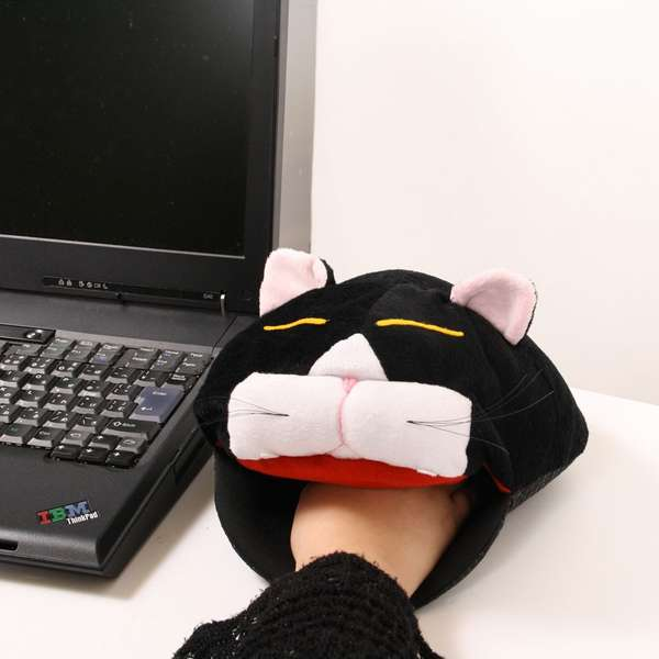 USB mousepad cat heater
