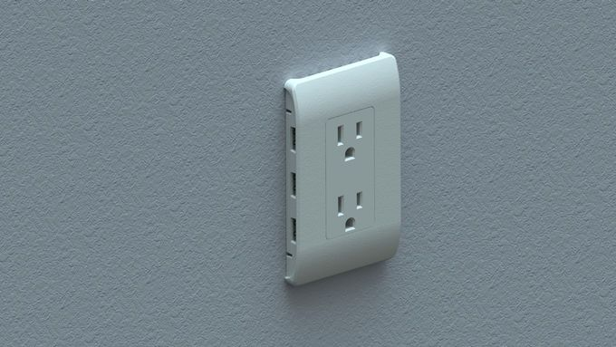 Device-Accommodating Outlets