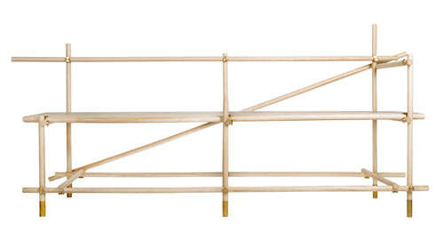 Scaffolding-Like Furniture