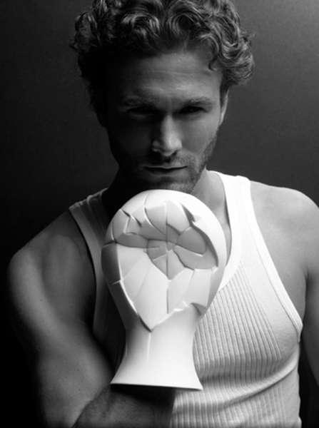 Porcelain Boxing Gloves
