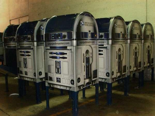 USPS Jedi Master Postal Mailboxes