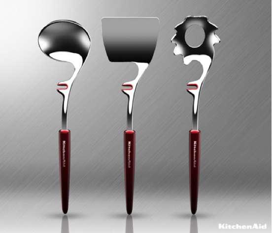 Saucepan-Clinging Spoons