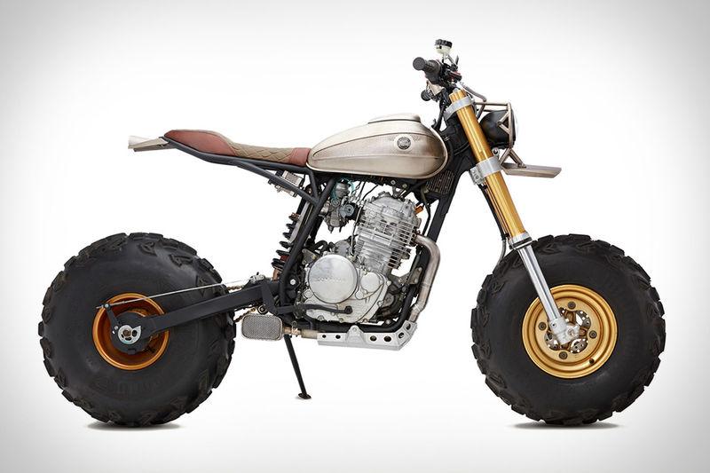 Upholstered Utilitarian Motorbikes