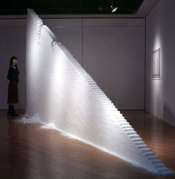Slim Salt-Made Stairs