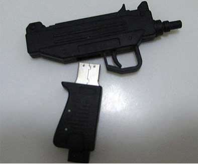uzi usb stick marketing
