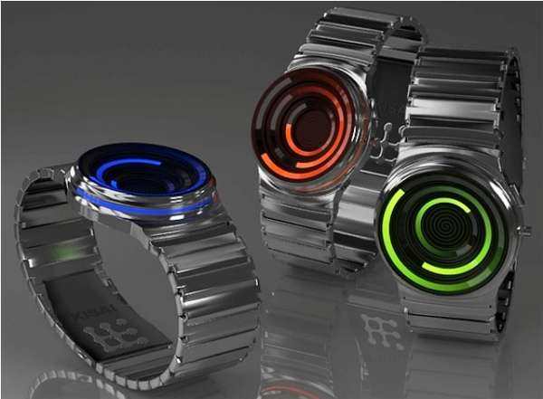 Spiraling Watch Concepts
