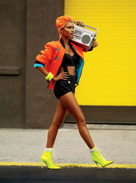 V Magazine Queen of Hip-Hop Editorial