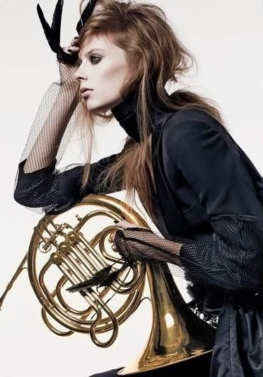 Musician-Inspired Editorials