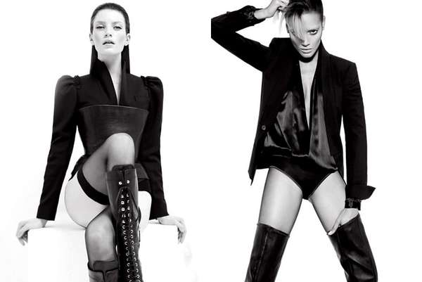 Sleek Dystopian Editorials