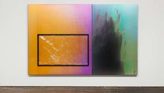 Pliable Window-Pane Paintings