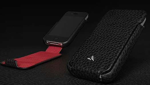 vaja leather iphone 4 case