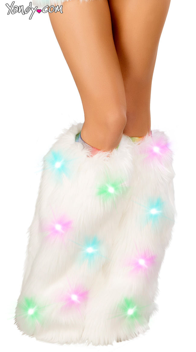 Luminescent Leg Warmers