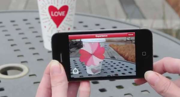 7437ccbe16f8 Augmented Reality Romance Apps   Valentine s Day Cup Magic