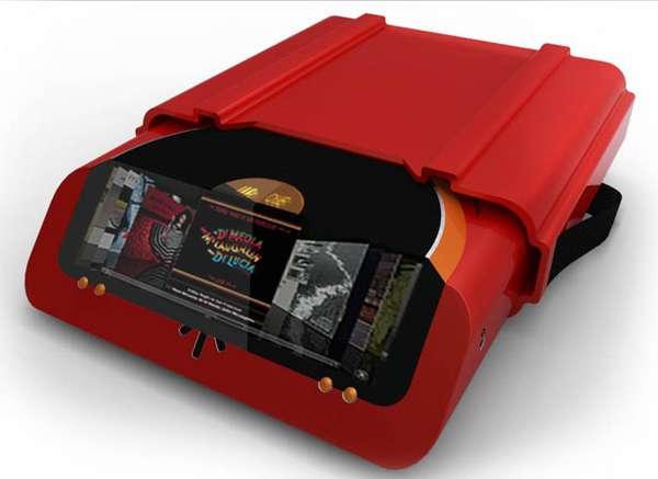 Typewriter-Inspired DJ Equipment