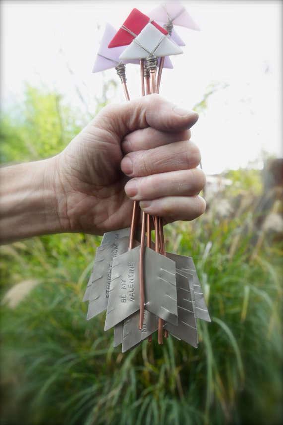 Engraved Cupid's Arrows