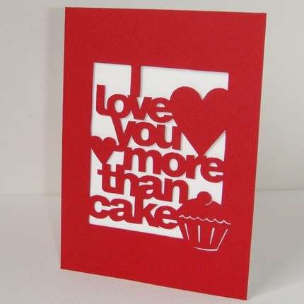Comparative Valentines Day Cards