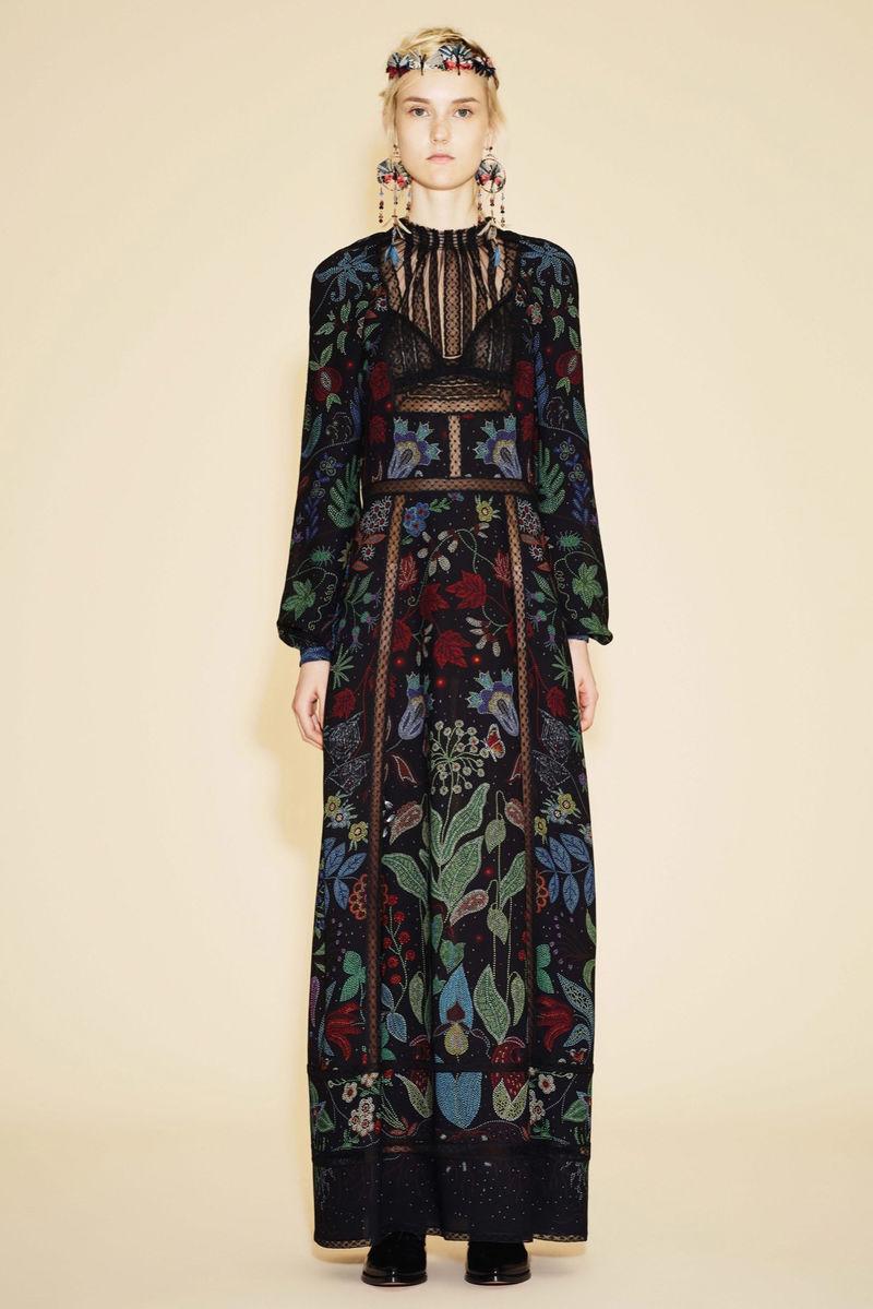 Luxurious Folksy Fashion