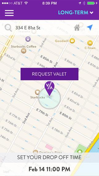 Scheduled Valet Services