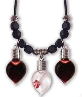 Real Blood Pendants