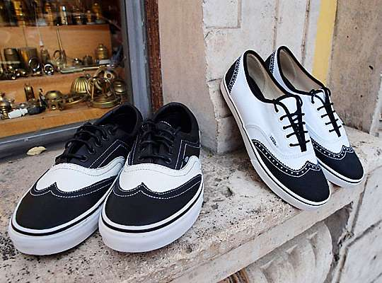 Brogue Skate Shoes