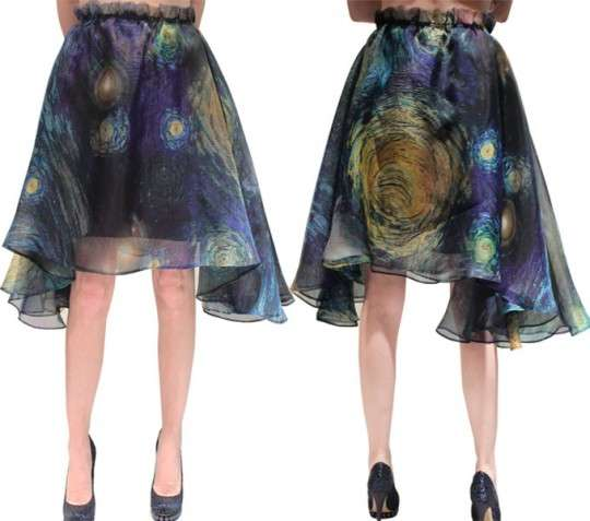 van gogh skirts by rodarte